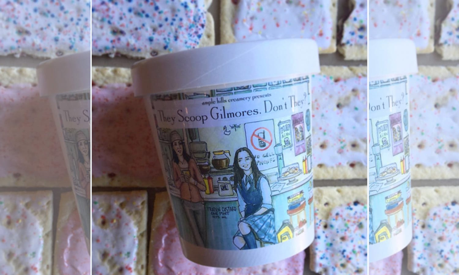 'Gilmore Girls' Has A New Ice Cream Flavor And It's Filled With Junk Food