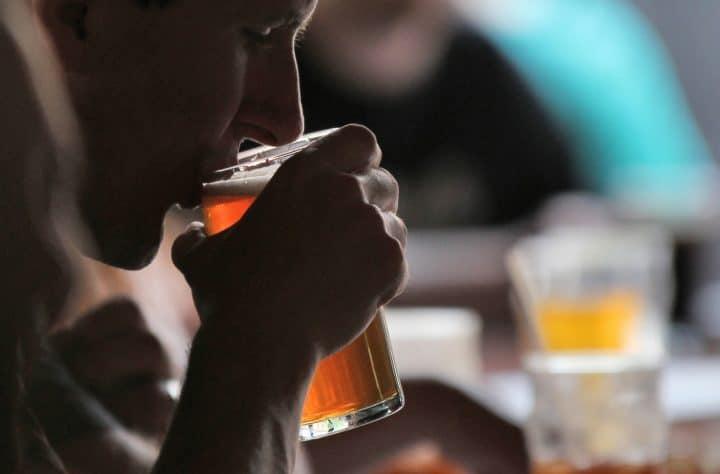 craft beer, flip cup