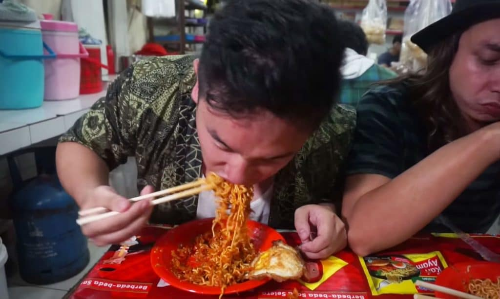 'World's Spiciest Noodles'