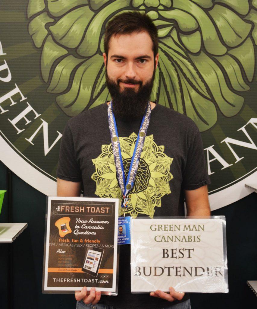 Photo courtesy of Green Man Cannabis