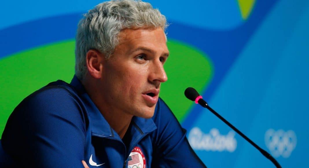 reports ryan lochte suspended from swimming for 10 months