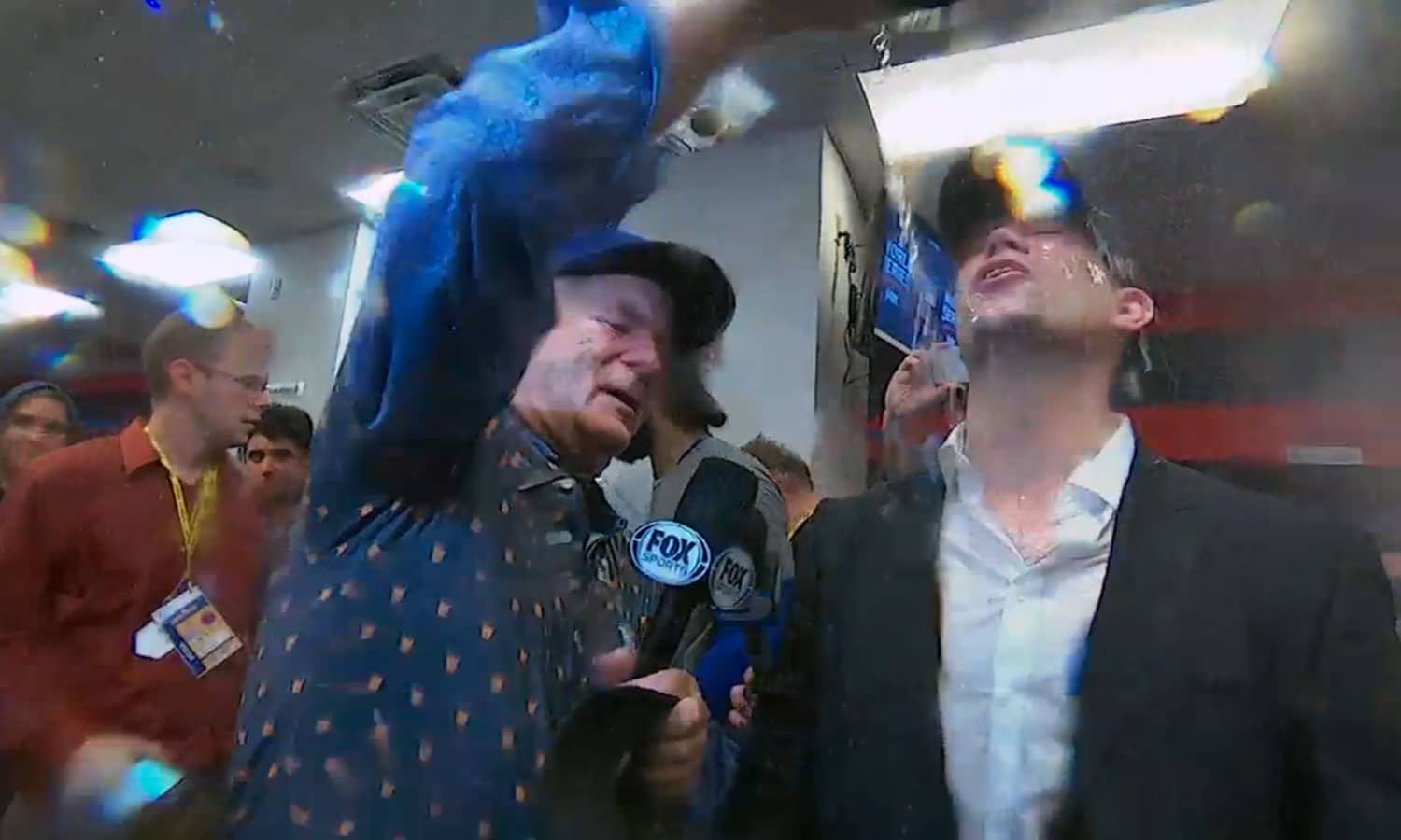 08e88d6f6e0 WATCH  Bill Murray Interviews Chicago Cubs Players After Last Night s  Amazing World Series Win