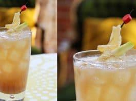 Harvest Dark & Stormy Cocktail