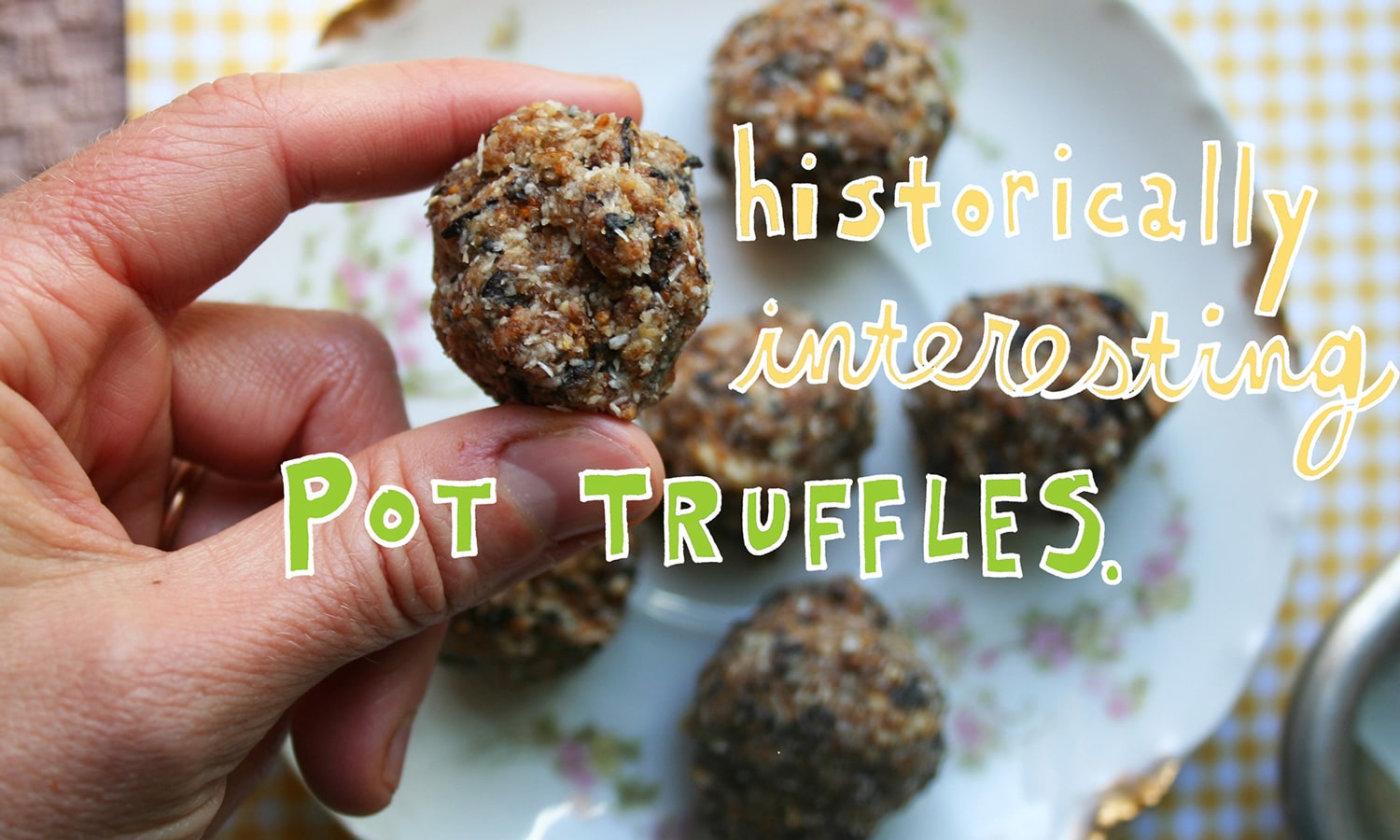 a brief history of cannaballs and the origin of marijuana brownies