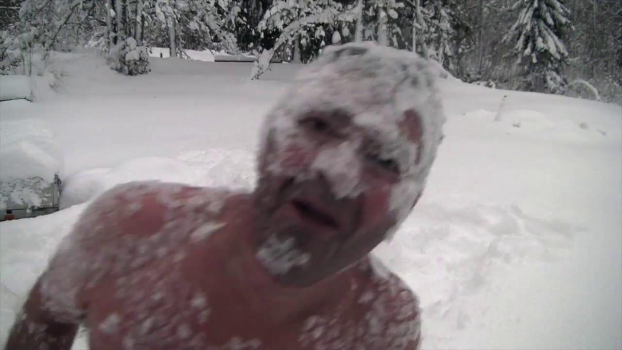 Watch A Vodka-Chugging, Nearly-Naked Norwegian Madman