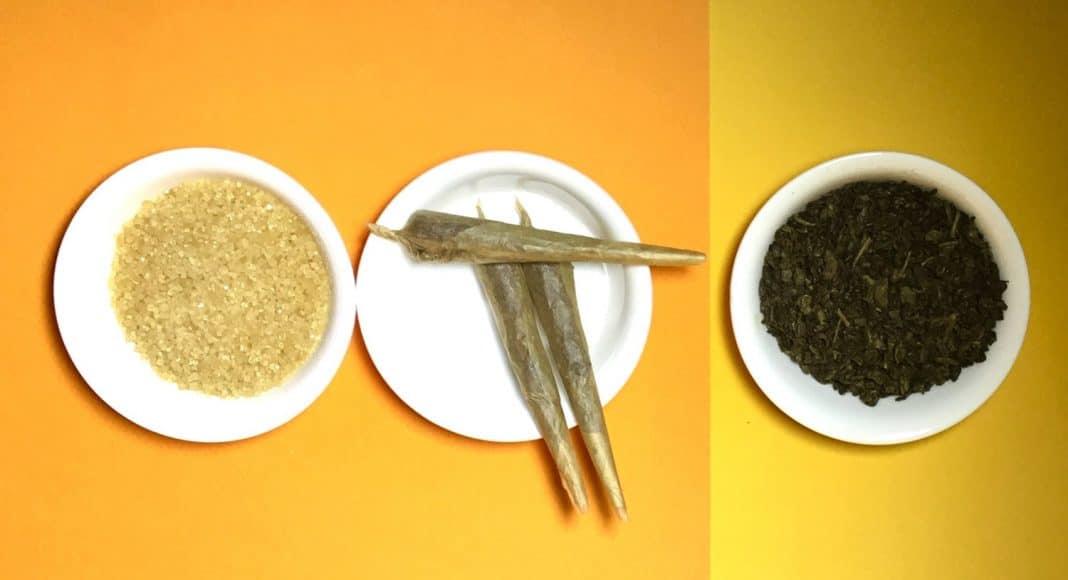 Gunpowder Green Tea syrup
