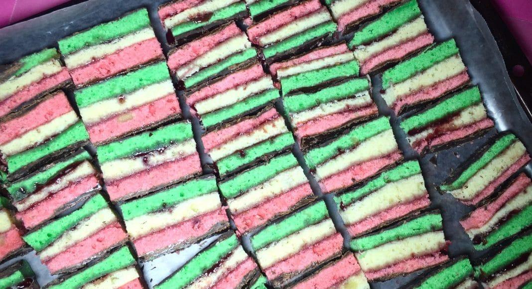 7-Layer weed cookies