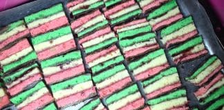 7-Layer weed cookies