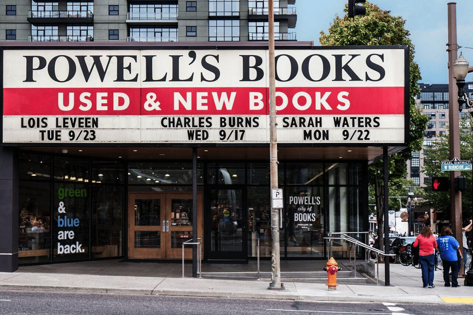 Photo credit: Powell's Books