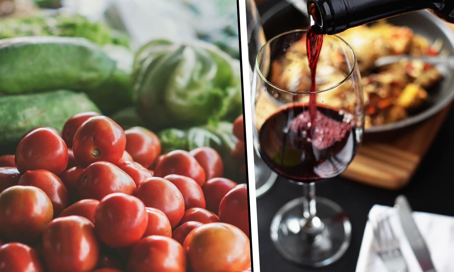 5 Wine And Vegetable Pairings
