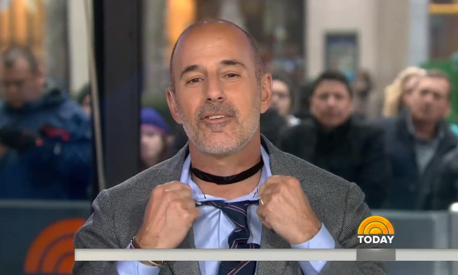 Matt Lauer And The Choker: What Other Throwback Fashion Trends Should He Try?