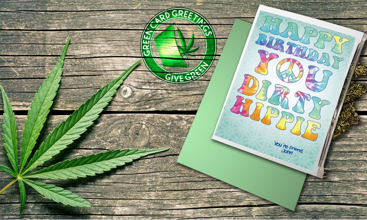 You Can Now Buy Greeting Cards With A Cannabis Kick