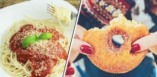 spaghetti doughnuts