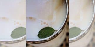 Vietnamese sugar cane juice mocktail