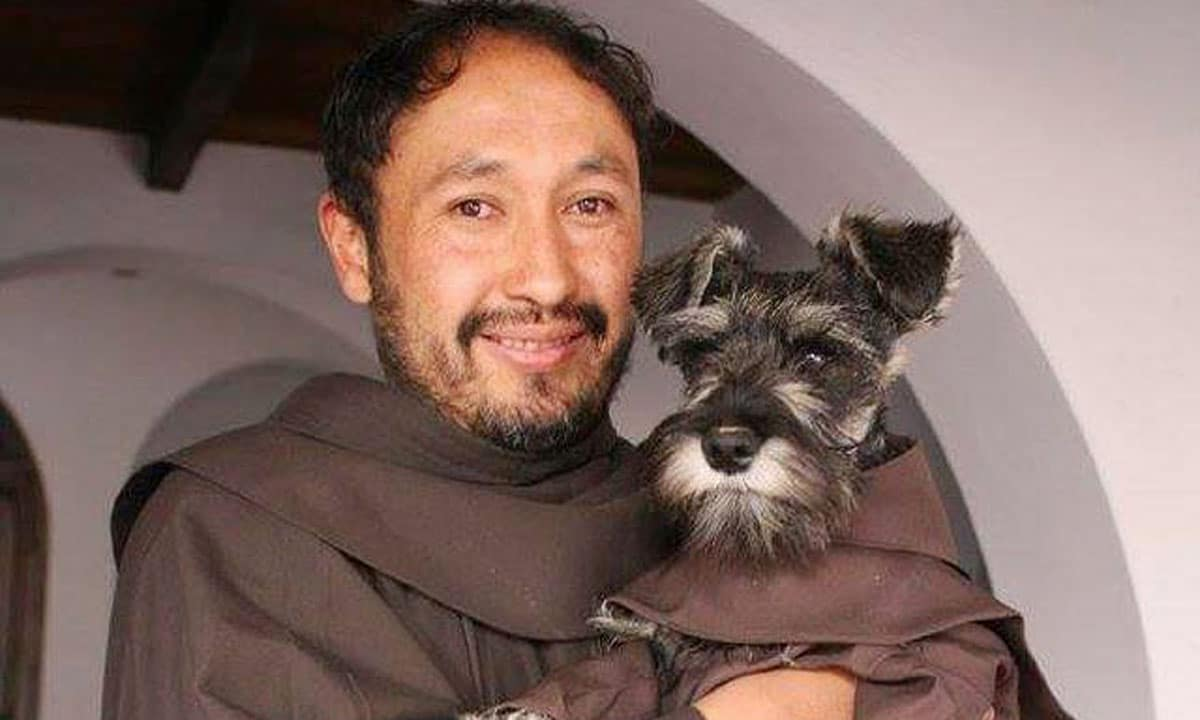 This Stray Dog Is Welcomed As Monastery's Cutest New Friar