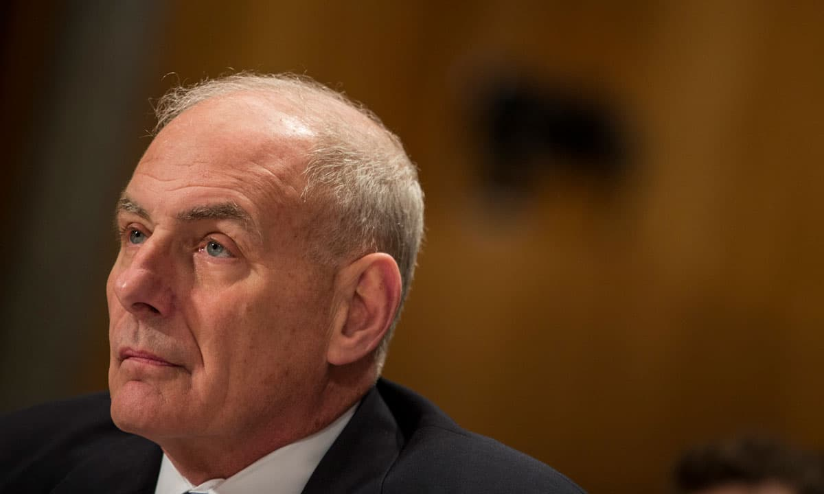 Kelly: Terror threat to US worse than before 9/11 attacks