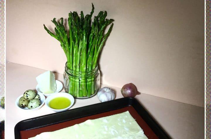 Cannabis Asparagus Tart