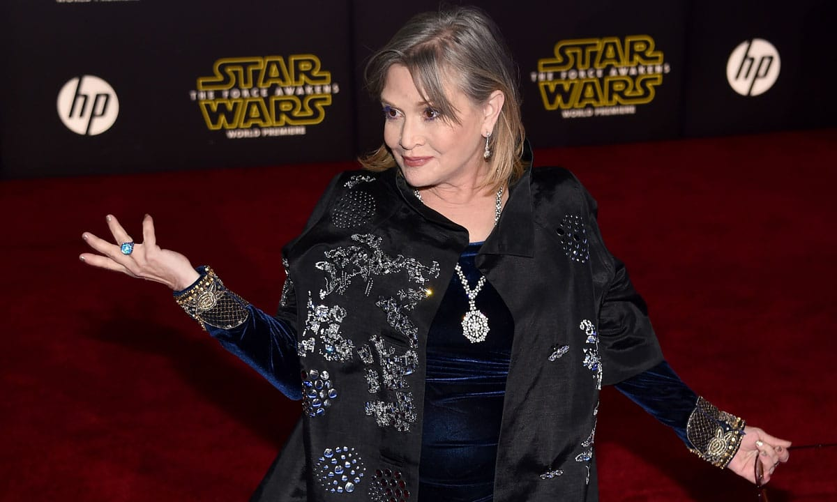 Carrie Fisher would have led next 'Star Wars' before her sudden death