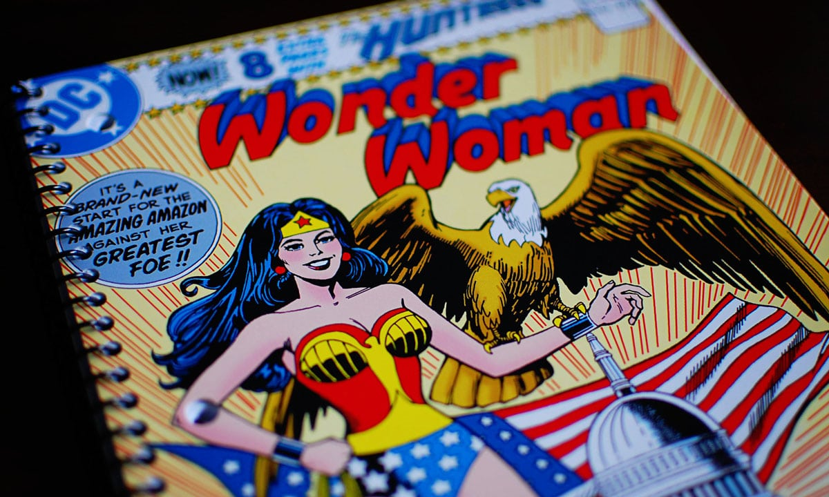 Wonder woman first comic book-2135