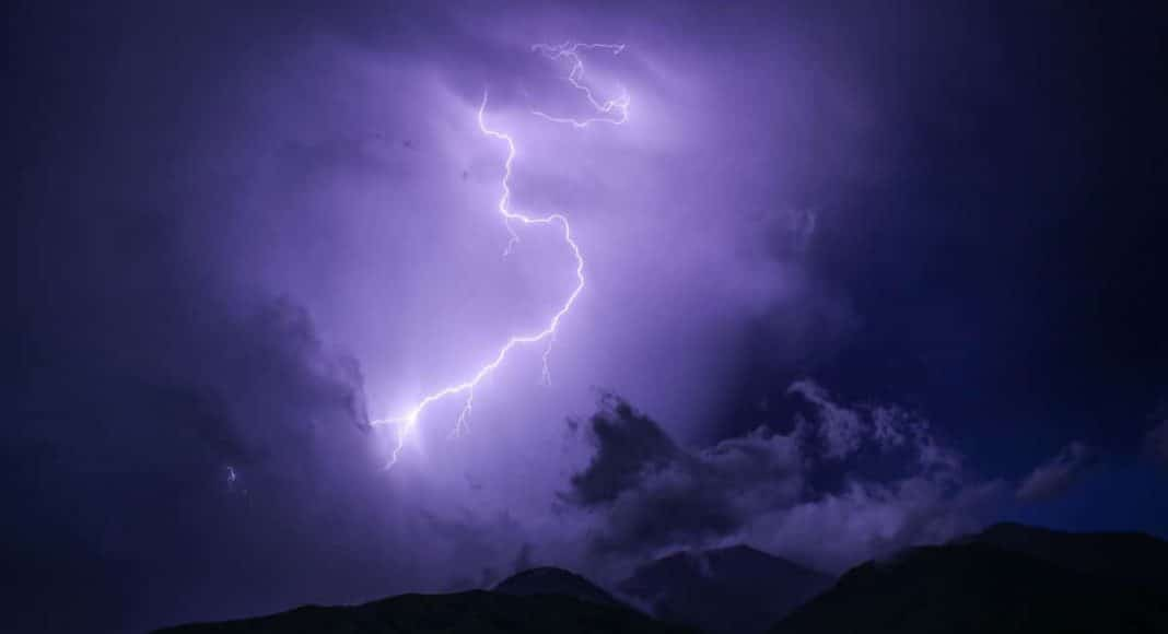 Trippy Video Shows How Lightning Looks From Space