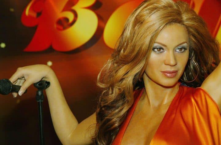 Beyoncé Wax Figures