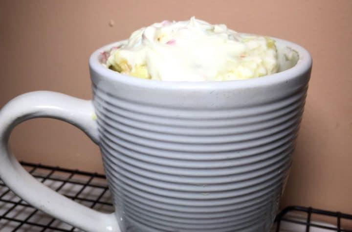 Cannabis Mug Cake