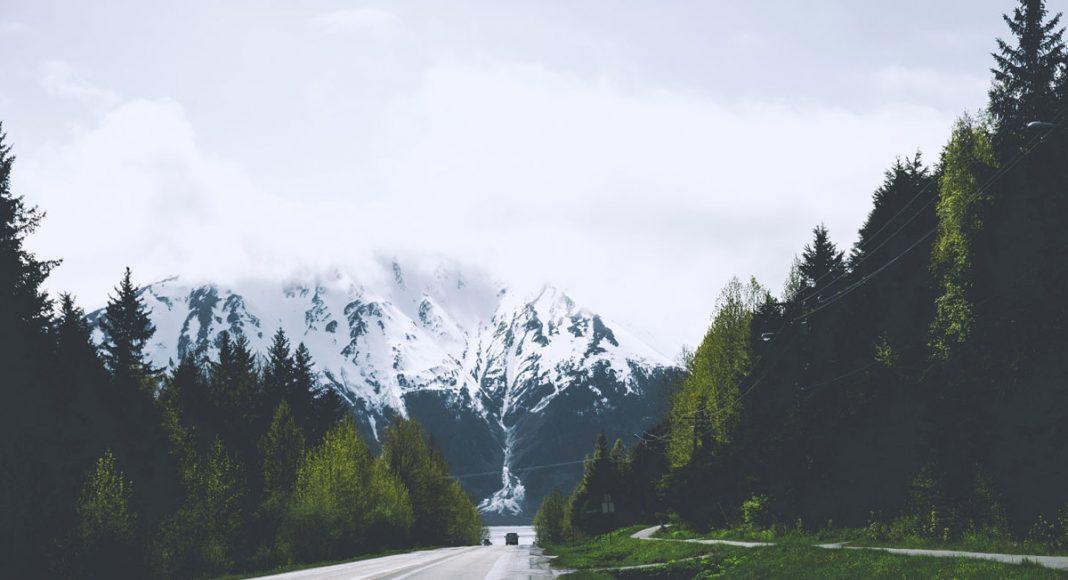 Small Alaskan Tourist Town