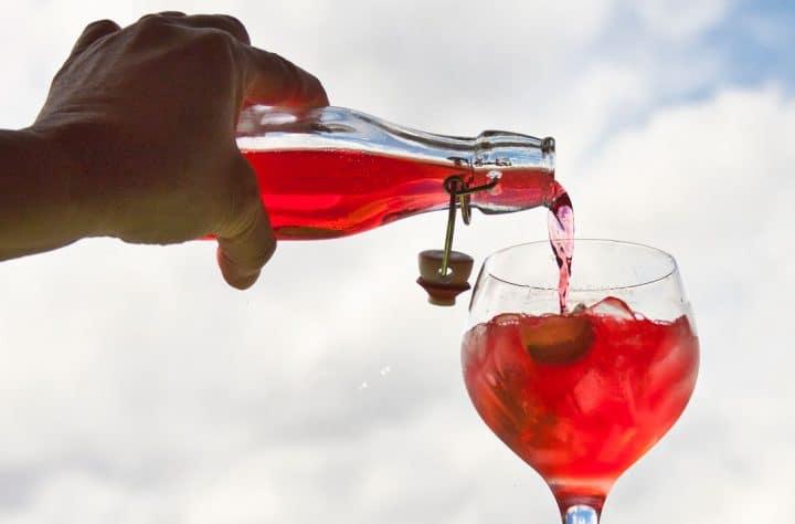 Cranberry Cannabis Cocktail