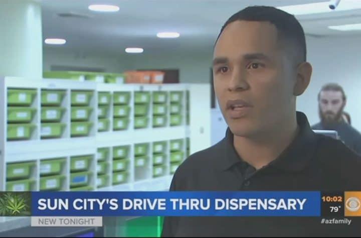 Marijuana Drive-Thru