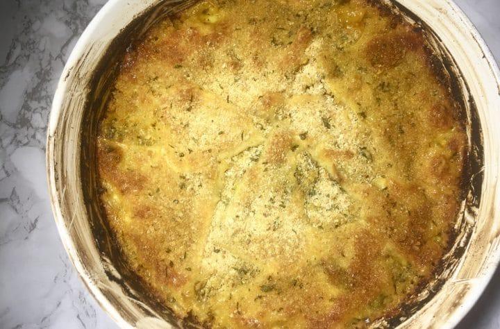 Cannabis Mac & Cheese Bake