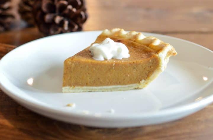 Clear Pumpkin Pie