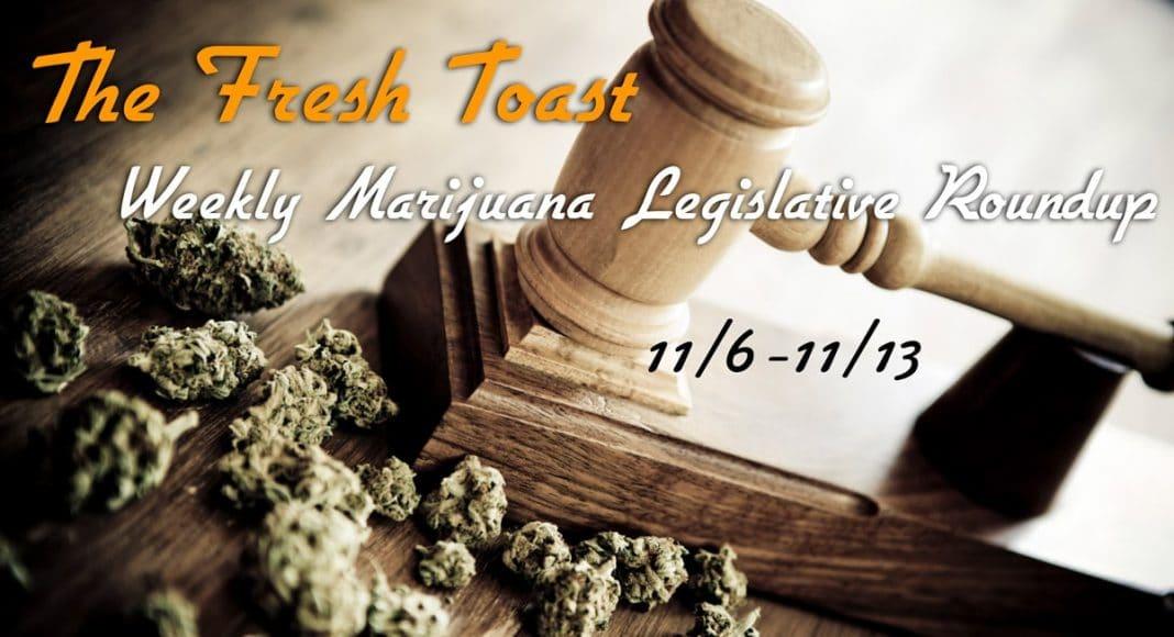 Marijuana Legislative Roundup.