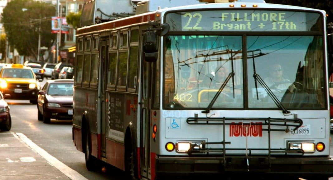 San Fran Muni Buses