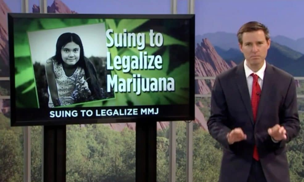 A 12-Year-Old Is Suing the Government Over Medical Marijuana