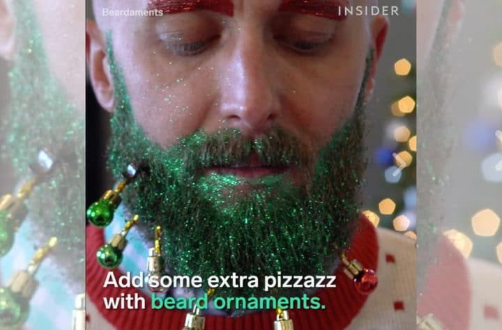 Decorate Your Beard For Christmas