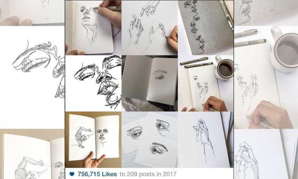 What were your best nine Instagram photos from 2017?