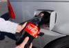 Gas Tank With Coke