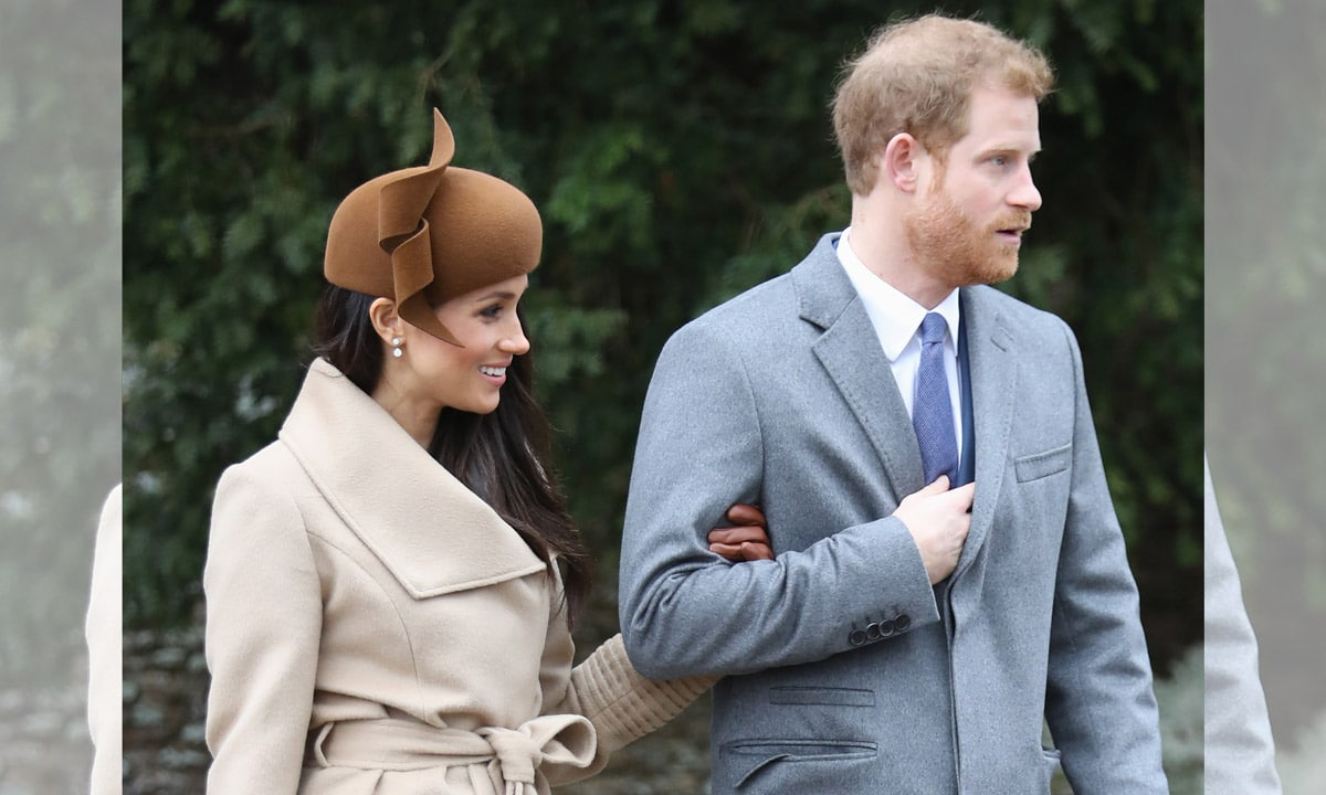 Prince Harry and Meghan Markles body language examined