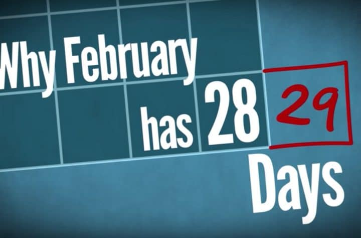 Reason February Only Has 28 Days