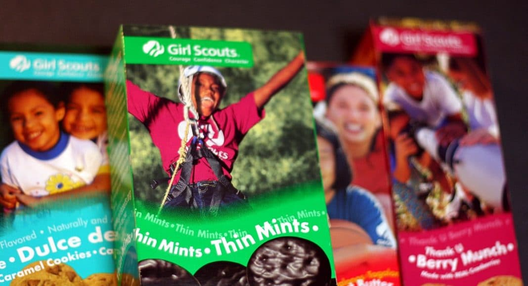 Girl Scout Cookie Season