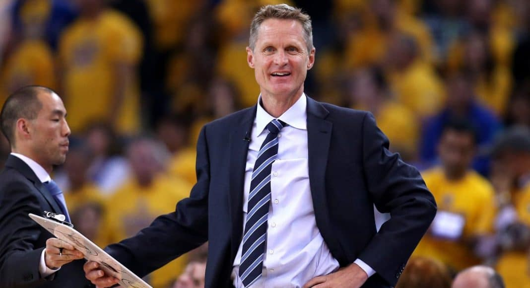 NBA Coach Steve Kerr Is A Proponent Of California's Medical Marijuana