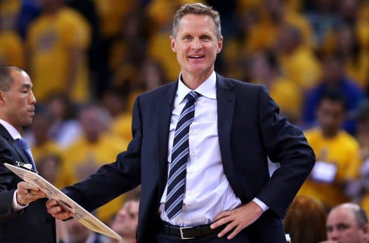 NBA Coach Steve Kerr Is A Proponent Of California's Medical Marijuana