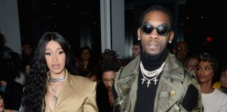 Cardi B There As Migos' Offset Lights Up Blunt At New York Fashion Week