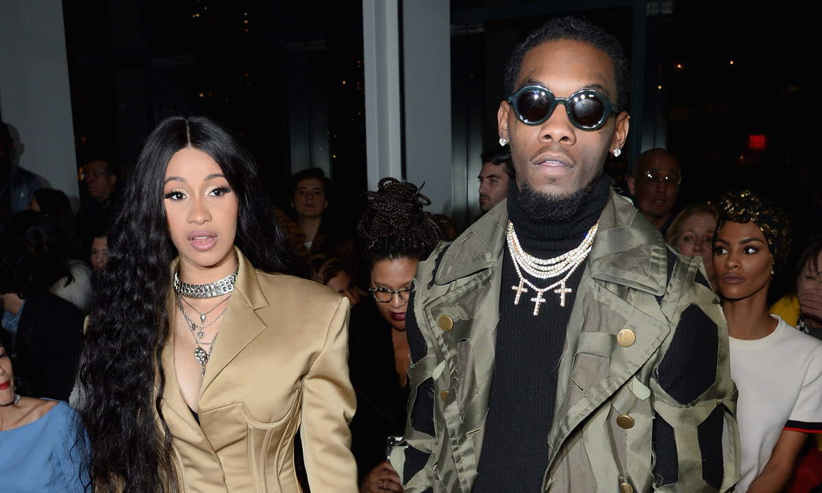 Cardi B And Offset Welcome Baby Girl With Most Interesting: Cardi B There As Migos' Offset Lights Up Blunt At New York