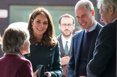 See Prince William and Duchess Kate Pose With A 101-Year-Old Fan