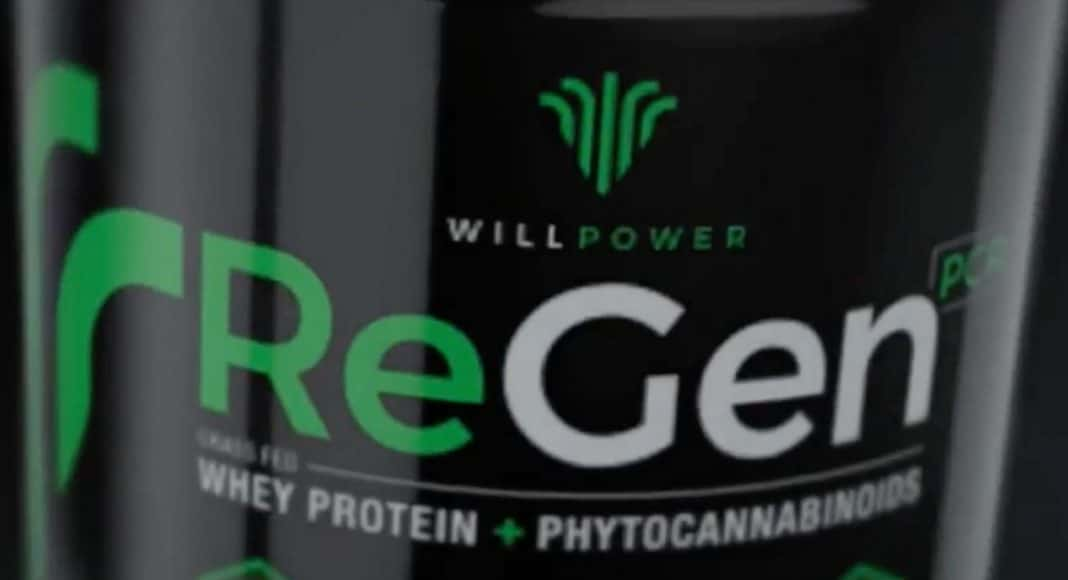 Protein Powder Includes CBD