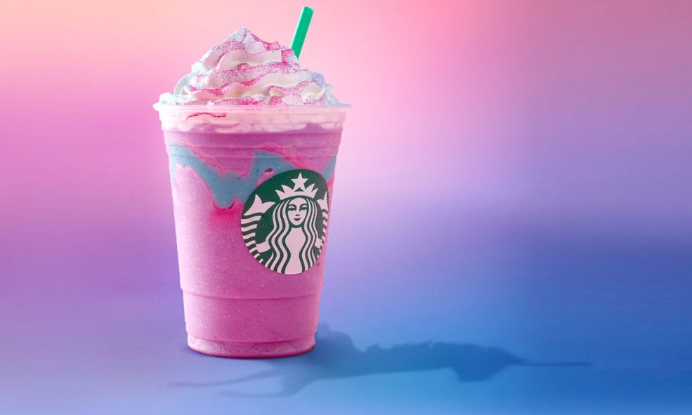 Starbucks Crystal Ball Frappuccino available Thursday, for just 4 days