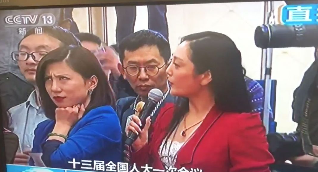 Chinese Reporter Rolls Her Eyes On Live TV And A Meme Is Born