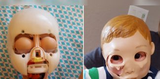 This Little Girl Is Obsessed With Doll Face Transplants And It's Creepy