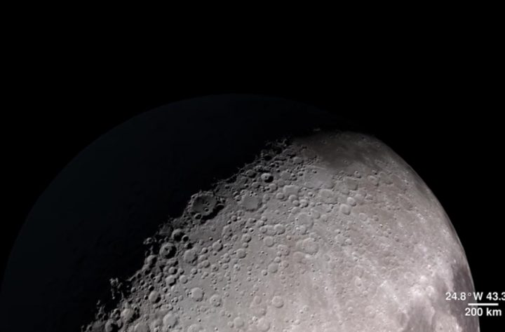 New NASA Animation Is Literally Over The Moon